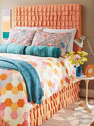 How To Make Your Own Duvet Cheap And Chic Diy Headboard Ideas Fabric Covered Diy