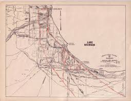 Chicago Train Map by Keystone Crossings General Map U0026 Chart Information