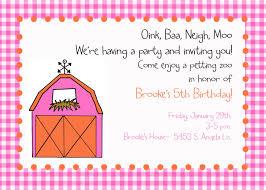 5th birthday party invitation petting zoo invitation digital file barn party invitation