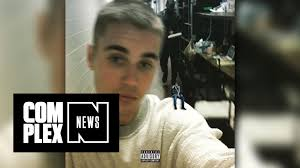 Shaved Head Meme - justin bieber debuts shaved head with drake meme youtube