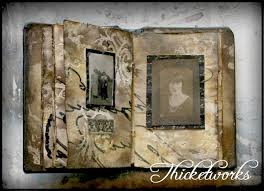 leather bound scrapbook diy leather bound photo album reader feature the graphics fairy
