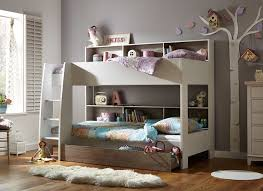 Bunk Beds Storage Wooden Bunk Bed With Storage For Different Room Styles