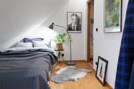 Attic Apartment by Attic Apartment In The Scandinavian Style