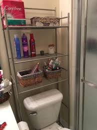 Bathroom Spacesaver Cabinet by Mainstays 3 Shelf Bathroom Space Saver Satin Nickel Finish