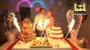 dessert mariage animation arrivée du dessert pour mariage lol événements
