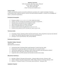 Occupational Therapist Resume Template Sample Resume For Entry Level Sample Entry Level Resume Sample