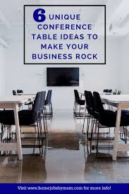 Unique Conference Tables 6 Unique Conference Table Ideas To Make Your Business Rock