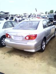 2003 used toyota corolla 2003 toyota corolla from cotonou price 1 3 m naira see picture