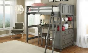 loft bed with desk plans top stylish childrens loft beds with desk for household plan