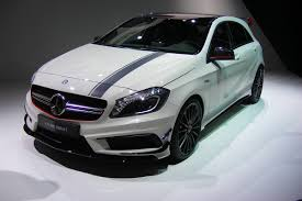 mercedes a class 45 amg mercedes a45 amg unveiled auto express