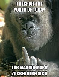 Ape Meme - hater ape memes quickmeme
