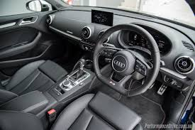 volkswagen sedan interior 2017 audi s3 sedan review video performancedrive