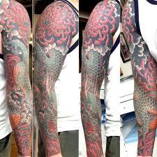 japanese dragon tattoo sleeve designs tattoos alex rusty