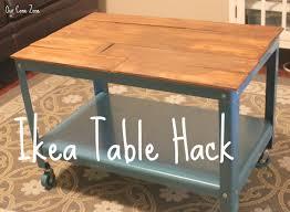 Diy Furniture Hacks Furniture Ikea Coffee Table Hack To Customize Furniture