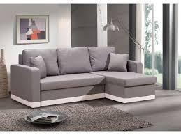 canape gris blanc conforama canapé d angle convertible et réversible 4 places isidor coloris