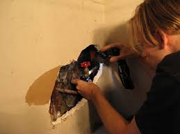 how to fix a broken pipe inside a wall