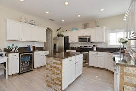 S And W Cabinets Traditional Kitchen With High Ceiling U0026 Large Ceramic Tile In