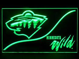 Minnesota wild swimming images Minnesota wild cool display shop neon light sign beer bar jpg