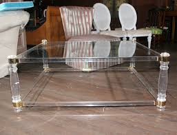 Acrylic Coffee Table Ikea Lucite Coffee Table Ikea Creating Harmony Living Room With