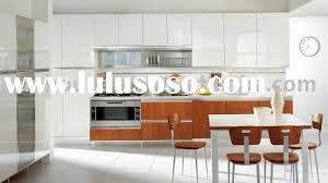 Shiny White Kitchen Cabinets Dark Oak And White High Gloss Pleasing High Kitchen Cabinets