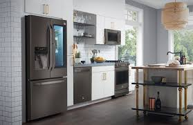 stainless steel kitchen appliances the appeal of black stainless steel appliances consumer reports