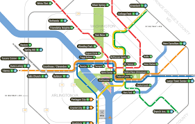 Metro Line Map by Washington Dc Hotels Near The Metro
