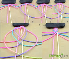 easy bracelet images How to make easy rainbow string bracelet quickly in five minutes jpg