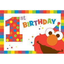 elmo online invitations elmo 1st birthday party supplies theme party packs