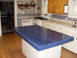 blue white kitchen decoration using square blue and white kitchen