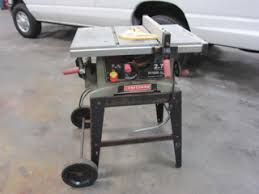 10 Craftsman Table Saw Coloraceituna Craftsman 10in Table Saw With Leg Set Images