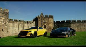 and lamborgini chevrolet camaro and lamborghini centenario in transformers 5 the