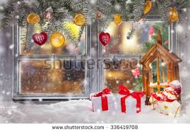 christmas window candle stock images royalty free images