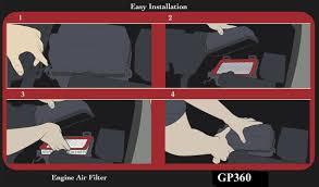 lexus rx330 air filter amazon com epauto gp360 ca9360 toyota lexus rigid panel