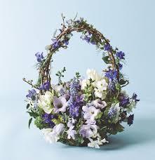 basket arrangements a tisket a tasket flowers in a basket flower magazine