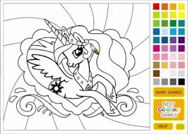 pony colouring games kids coloring europe travel