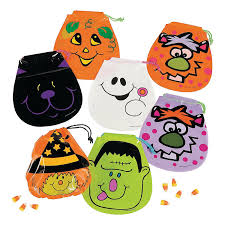 fun candy free halloween treats grinning ghouls