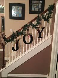 best 25 christmas stair garland ideas on pinterest christmas