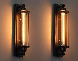 Edison Bulb Wall Sconce Industrial Wall Sconce Amazing American Style Edison Vintage L