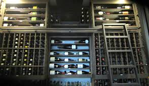 Wine Cellar Wall - dallas texas wine cellar with large cooling units