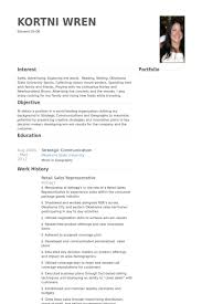 Salesperson Resume Example by Retail Sales Resume Samples Visualcv Resume Samples Database