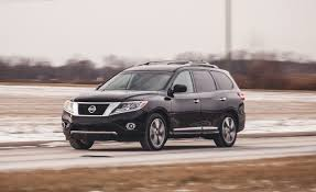 pathfinder nissan black 2014 nissan pathfinder hybrid awd test u2013 review u2013 car and driver