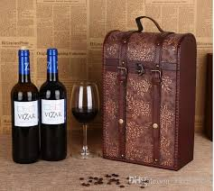 gift packaging for wine bottles 2018 2017 new antique wine gift box wooden box from