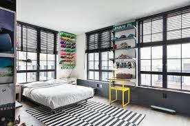 deco urbaine chambre ado bel appartement à au design éclectique apparence urbaine