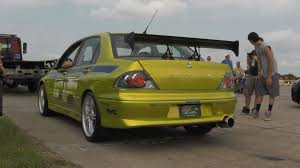 mitsubishi evolution 7 paul walker u0027s mitsubishi lancer evolution vii 2 fast 2 furious