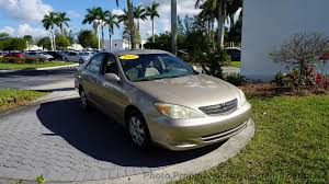 2002 used toyota camry 4dr sedan le automatic at royal palm nissan