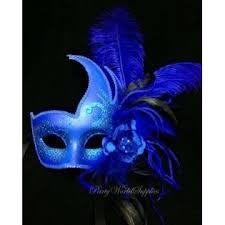blue masquerade masks kbw masquerade mask royal blue masquerade mask ostrich