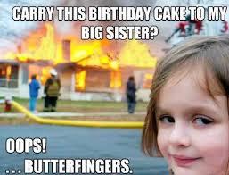 Meme To - 50 happy birthday sister meme betameme