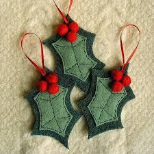 free wool felt ornament patterns cherries interior