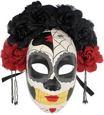 Jeepers Creepers Halloween Mask by La Catrina Day Of The Dead Mask 301313 Halloween Mask