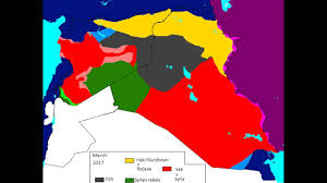 Syria War Map by Alternate Future Of Syria Youtube